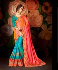 Fancy Latest Festive Pink Sarees