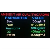 Ambient air quality monitor