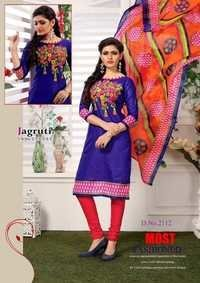 COTTON PRINTED UNSTITCHED DRESS MATERIALS AT WHOLESALE RATE