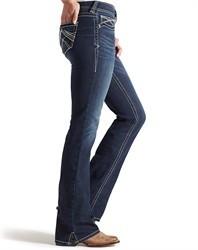 Mid Slim Boot Women Jeans