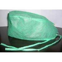 Green Non Woven Surgical Cap