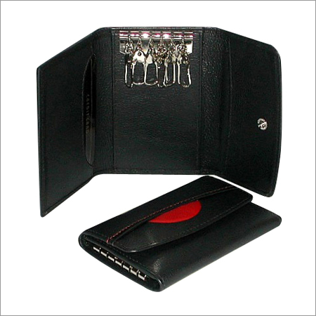 Leather Key & Card Holder