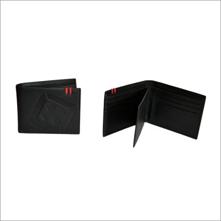 Black Leather Men Wallet