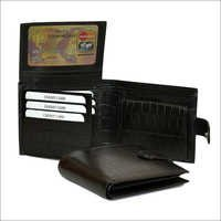 Brown Genuine Leather Hand Crafted Wallet