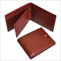 Men Formal Brown Genuine Leather Wallet
