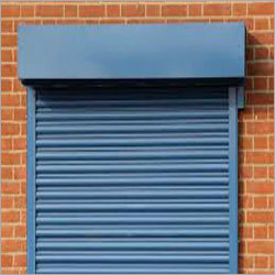 Industrial Steel Motorized Rolling Shutter