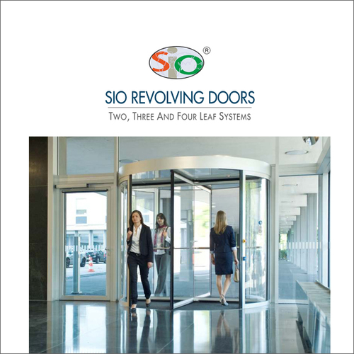 Automatic Revolving Door