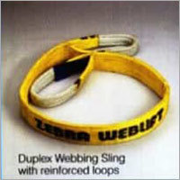 Duples Webbing Sling With Reinforced Loops