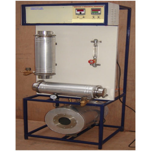 horizontal condenser apparatus