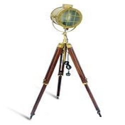 Hand Made Antique Floor Searchlight-Antique Floor Lamp