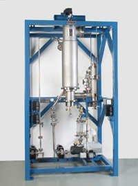 Falling film evaporator apparatus