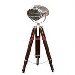 Designer Royal Nautical Spot Search Light -Floor Lamp Tripod