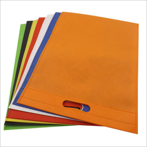 D Cut Colored Non Woven Bag