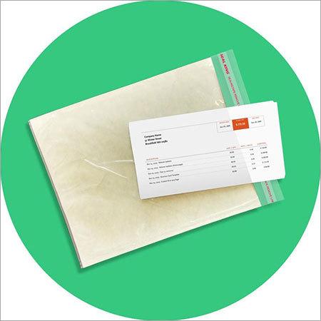 Side Loading Packing List Envelope