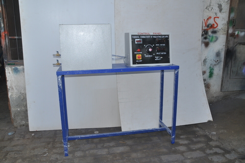 thermocouple calibration test rig.