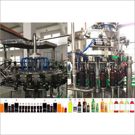 Automatic Rotary Bottle Rinsing Filling Capping Machine