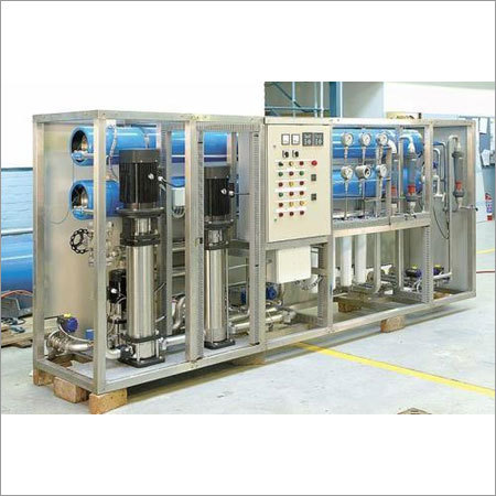 Industrial RO Mineral Water Plant