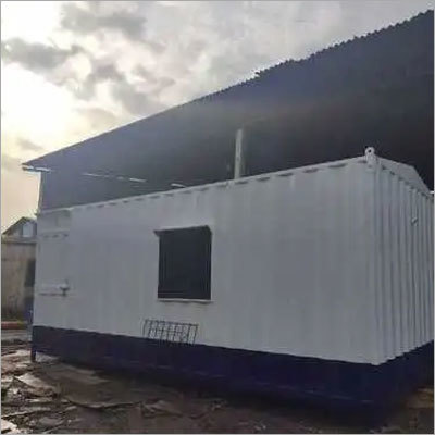 White Steel Portable Cabin