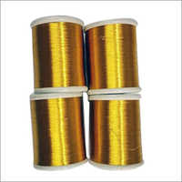 Yellow Touch Golden Zari Thread