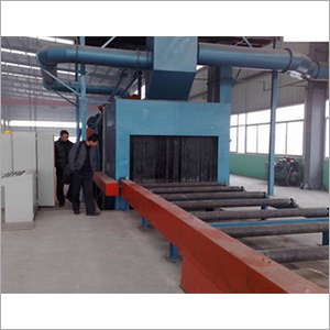 Outer Surface Pipe Shot Blasting Machine