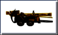 Trolley Mounted Mining Drilling Rig