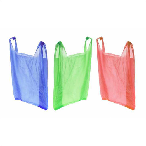 HDPE Plastic Carry Bag