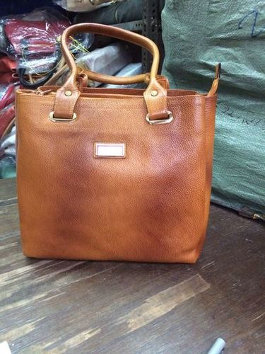 Ladies Leather College Bag