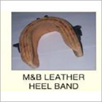 Mand B Leather Heel Band