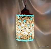 HANGING,MOSAIC GLASS HANGING,DECORATIVE RESIDENTIAL HANGING,GLASS HANGING,F