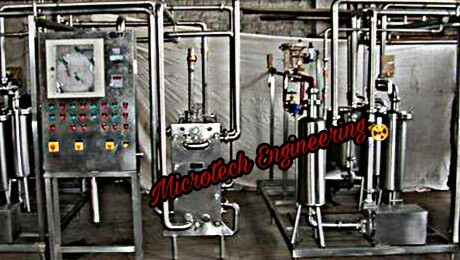 SKID MOUNTED MILK CHILLING SYSTEM