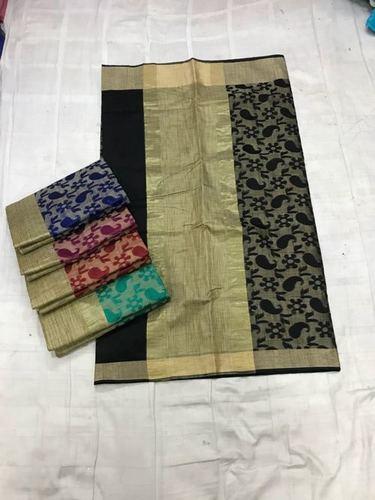 Banarasi Handloom Designe Cotton Sarees