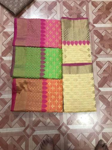 Banarasi Kota Silk Weawing Tilfi Designer Saree