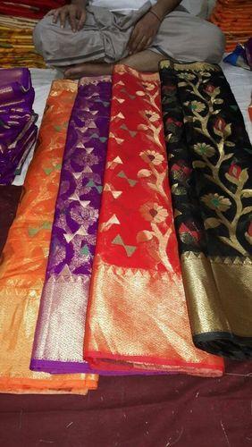 Monika Cotton Silk New Designe Saree