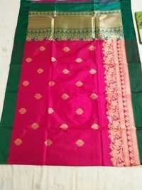 Banarasi Pure Katan Silk Weawing Traditional Handloom Saree