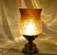 Glass Table Lamp Turkish Lamp
