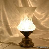Mirror Glass Table Lamp Turkish Lamp Moroccan Lamp Tiffany Style Gls