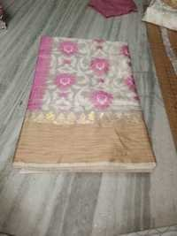 Banarasi Pure Tussar Silk Weawing Designer Saree