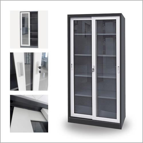 Metal Glass Storage Cabinets