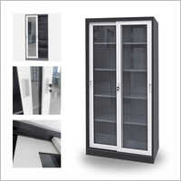 Metal Glass Storage Cabinets