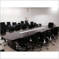 Wood Veneer Conference Table