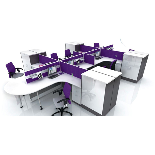 50mm Panel Based Curved Workstations