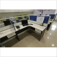 50mm Panel Based L Shaped Workstations