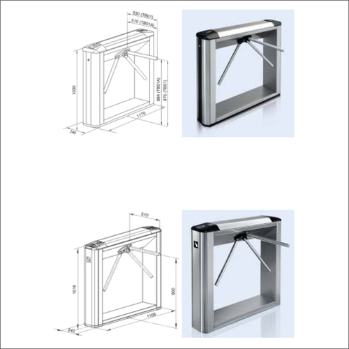Box Tripod Turnstiles