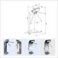 Sio Compact Tripod Turnstile With Automatic Anti Panic