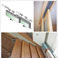 Sio Telescopic Slide Wood Doors Systems