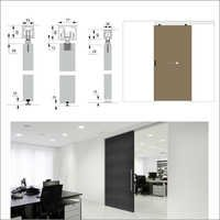 Sio Wood Linear Door Systems
