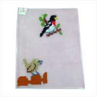 Embroidered Cotton Table Mats