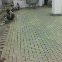 Chemical Resistant Tile Lining Of A Plant Floor
