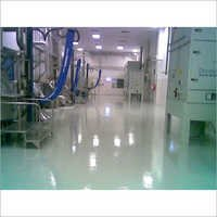 Epoxy Floor Coating Of Production Area