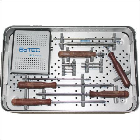 Anterior Cervical Plate Instrument Set